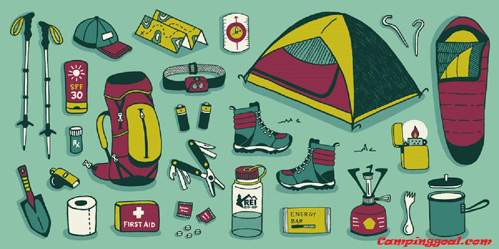 a checklist of things for camping