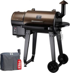 Z GRILLS ZPG-450A 2020 Upgrade Wood Pellet Grill & Smoker 6 in 1